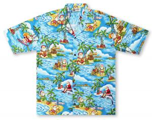 Aloha Republic Jolly Island Hawaiian Shirt