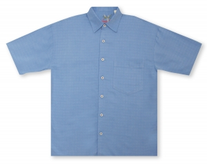 Bamboo Cay Bellagio - Cobalt Hawaiian Shirt