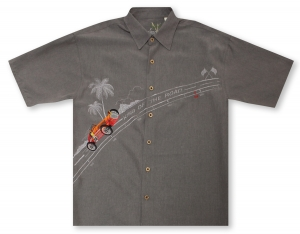 Bamboo Cay King of the Road - Grey* Hawaiian Shirt