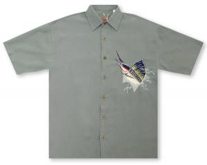 Bamboo Cay Mighty Sailfish Hawaiian Shirt