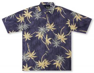 Bamboo Cay Petra Palm Hawaiian Shirt