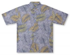 Bamboo Cay Salmanca Leaves Hawaiian Shirt