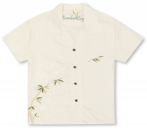 Bamboo Cay Ladies Bamboo Hawaiian Shirt