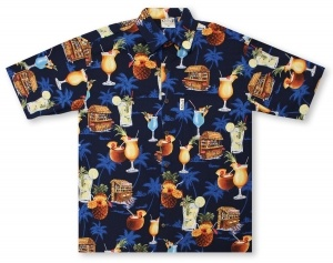 Go Barefoot The Barefoot Bar Hawaiian Shirt