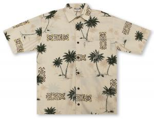 Go Barefoot Coco Palms Hawaiian Shirt