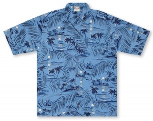 Go Barefoot Hapuna Moon* Hawaiian Shirt