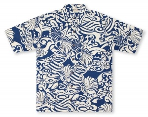 Go Barefoot In Paradise Big And Tall Lanikai Pareau* Hawaiian Shirt