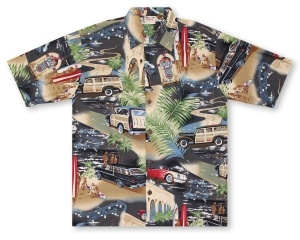 Go Barefoot Woody Hawaiian Shirt