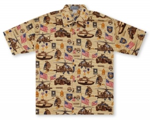 High Seas U.S. Army* Hawaiian Shirt