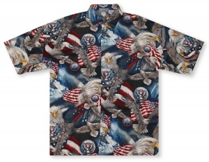 High Seas American Eagle Hawaiian Shirt