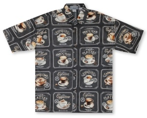 High Seas Coffee Bar Hawaiian Shirt