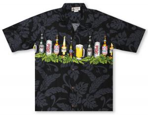Aloha Republic Hu-La-Lager Hawaiian Shirt