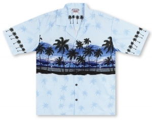 Pacific Legend Palm Breeze Hawaiian Shirt