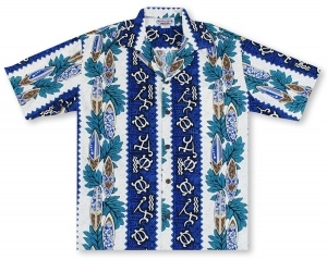 Pacific Legend Turtles And Sticks Hawaiian Shirt