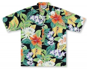 Pacific Legend Color Collage Hawaiian Shirt
