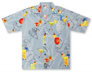 Aloha Republic Happy Hour Hawaiian Shirt