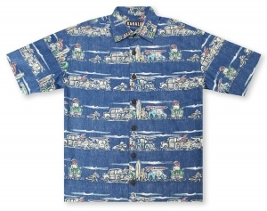 Kahala Big And Tall Beach Bop Hawaiian Shirt