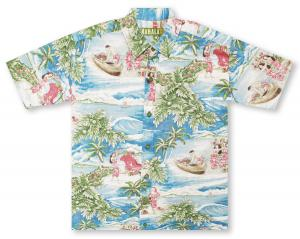 Kahala Christmas Island - Pre-Order: Will bill and ship 10-10-18 Hawaiian Shirt
