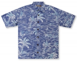 Kahala Big And Tall Hapuna Beach Hawaiian Shirt
