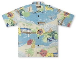 Kahala Big And Tall Kalama Hawaiian Shirt