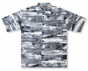 Kahala Tide Chart Hawaiian Shirt