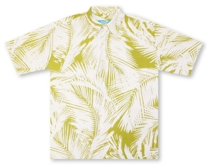 Kai Clothing Palm Leaf Hawaiian Shirt