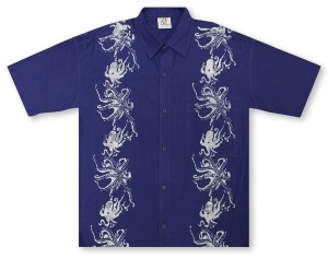 Rum Reggae Low Roller Octopi Hawaiian Shirt
