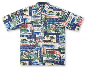 Reyn Spooner Hawaiian Christmas 2018 - Royal Hawaiian Shirt