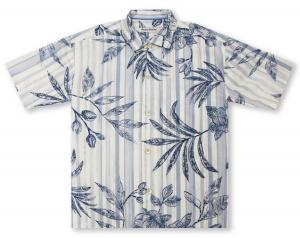 Tommy Bahama Indigo Vines Hawaiian Shirt
