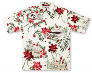 Tommy Bahama Honolulu Holiday Hawaiian Shirt