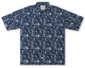 Tommy Bahama Medina Nights  Hawaiian Shirt