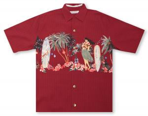 Tommy Bahama Mele Kalikimaka - Pre-Order: Will bill and ship 10-10-18 Hawaiian Shirt