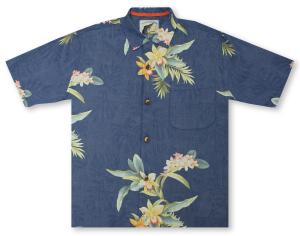 Tommy Bahama 25th Anniversary Edition Open Water Blooms Hawaiian Shirt