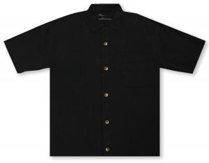 Tommy Bahama St. Lucia Fronds - Black Hawaiian Shirt
