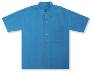 Tommy Bahama St. Lucia Fronds - Voyager Blue Hawaiian Shirt