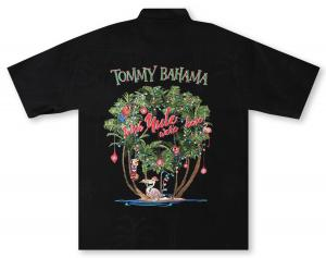 Tommy Bahama Wish Yule Were Here Hawaiian Shirt