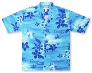 Two Palms Moonlight Hawaiian Shirt
