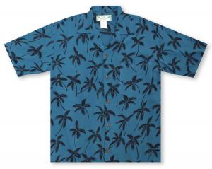 Two Palms Palm Tree Hawaiian Shirt