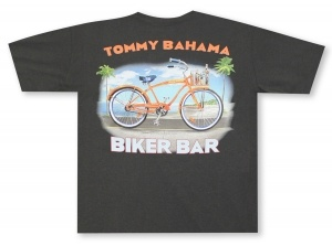 Tommy Bahama Biker Bar Tee Hawaiian Shirt