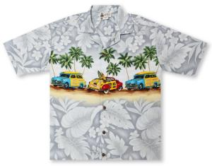 Aloha Republic Woody Paradise Hawaiian Shirt