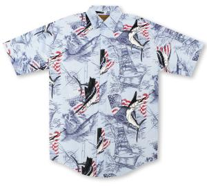Clearwater American Sportfishing Hawaiian Shirt