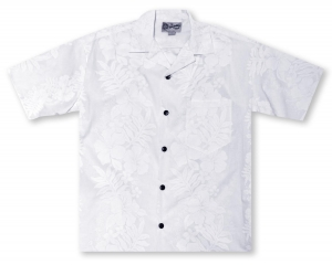 Hilo Hattie Hibiscus Floral Men's Shirt Hawaiian Shirt