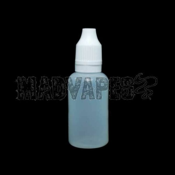 Empty Soft 30mL Bottle w/ Childproof Tamper Evident Cap