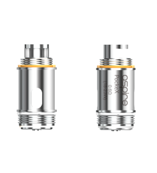 Aspire AIO Pockex Coil, 0.6 Ohm, 5pack