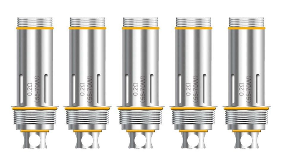 Aspire Cleito Replacement Coils, 5 Pack