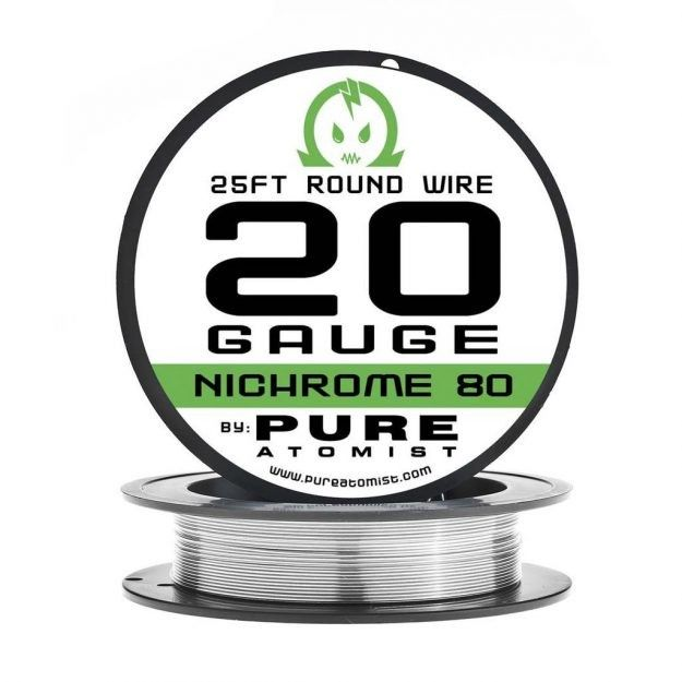 Pure Atomist, Nichrome 80 Wire, 25ft