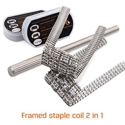 Geekvape Framed Staple Clapton Coil 2-in-1