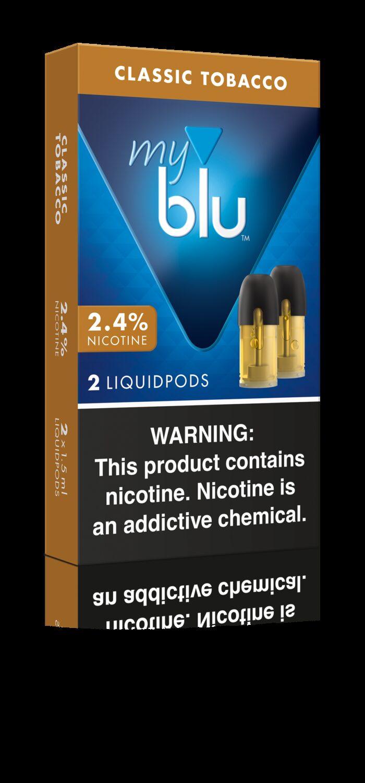 MyBlu Liquidpod, Classic Tobacco