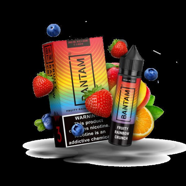 Bantam Vape, Fruity Rainbow Crunch
