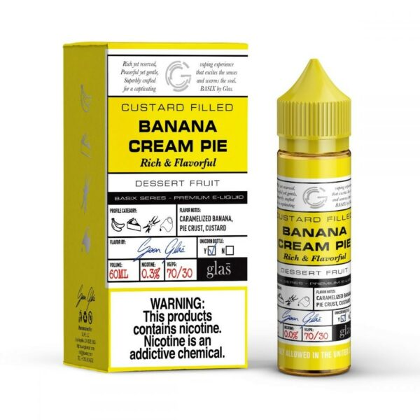 Glas Basix, Banana Cream Pie